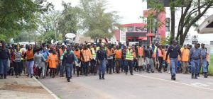 COMMUNITY OF BOKFONTEIN SETS AN EXEMPLARY EXAMPLE DURING MARCH