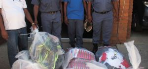 POLICE CLAMP DOWN ON COUNTERFEIT GOODS TRADE