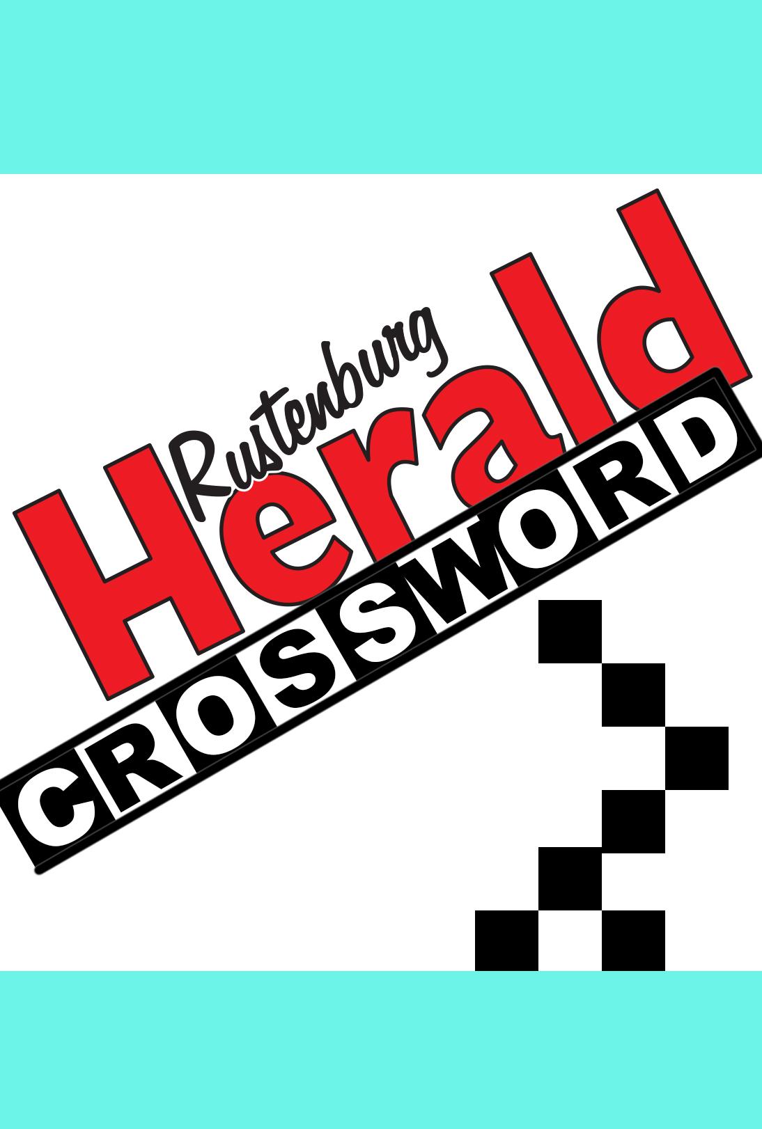 Rustenburg Herald Crossword
