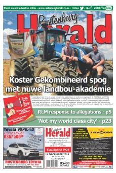 Rustenburg Herald main body