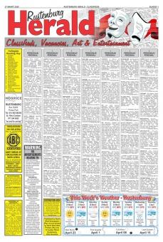 Rustenburg Herald classifieds