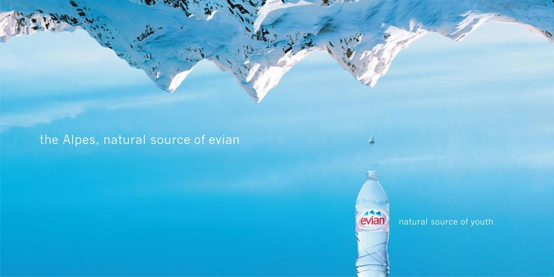 Evian Web Add