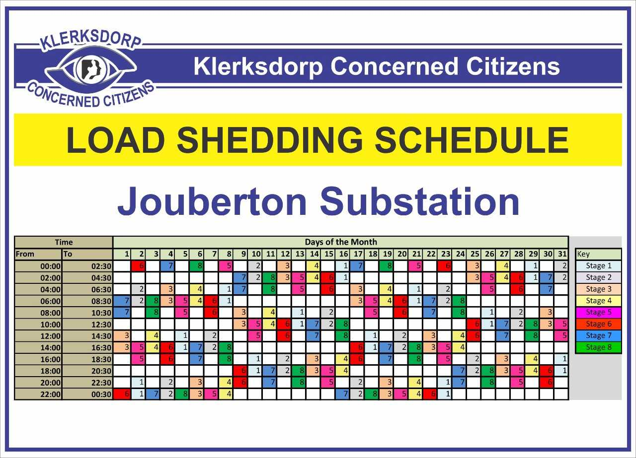 Load Shedding Schedule 2019: Loadshedding Schedule