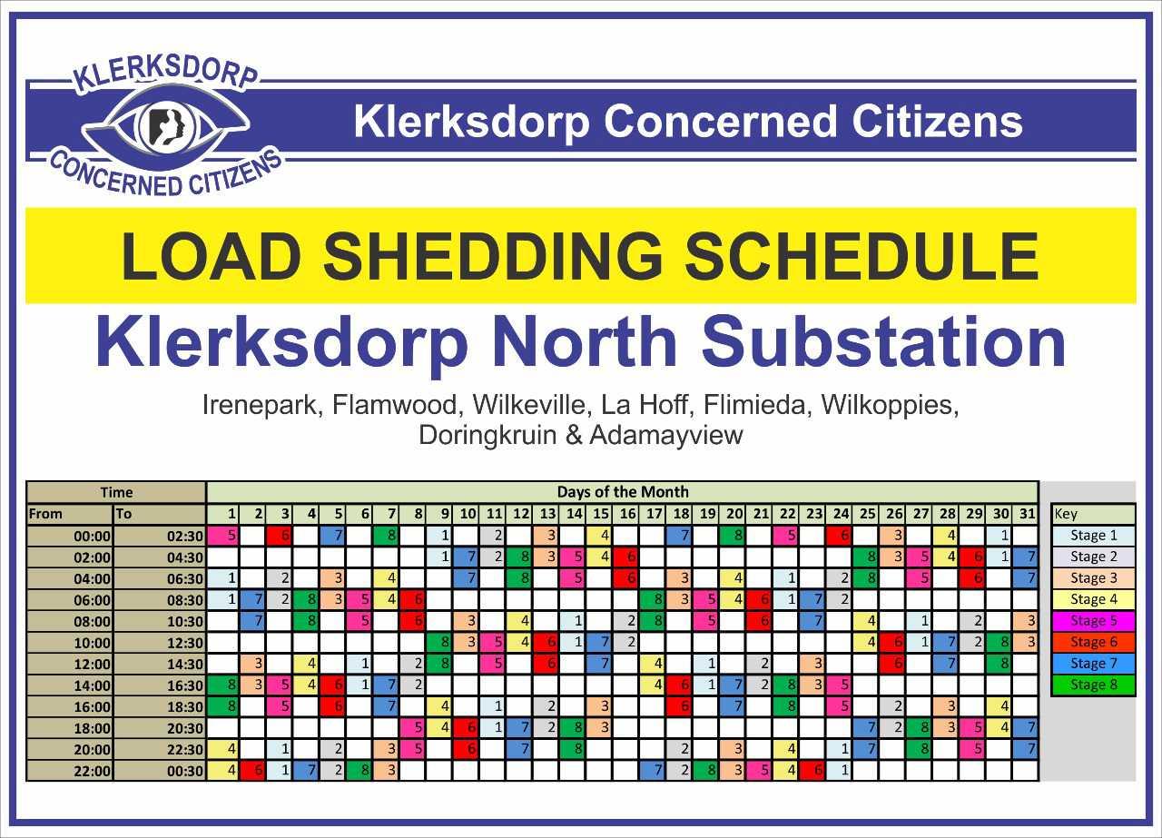 Loadshedding Schedule Hd: Loadshedding Schedule