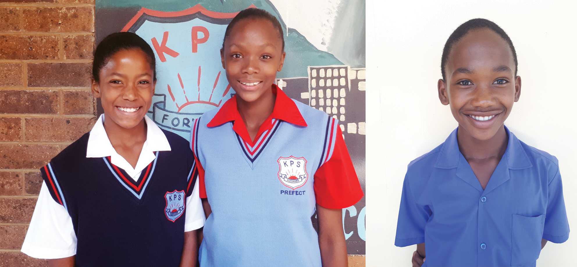 Angel Geel (u/12), Otlotleng Tshabadira (u/13) and Tlotliso Mokhele (u/12) of KPS participated in the NW Athletics Championships last week in Potch. Geel ended third in the 1200 m, Tshabadira ended second in the 200 m and Mokhele ended second in the 100m.