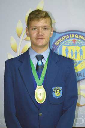 Leon Janse van Rensburg participated in the NASP North West league competition in Rustenburg on 10 March, where he received first place and gold medal for senior boys with a score of 292/300.