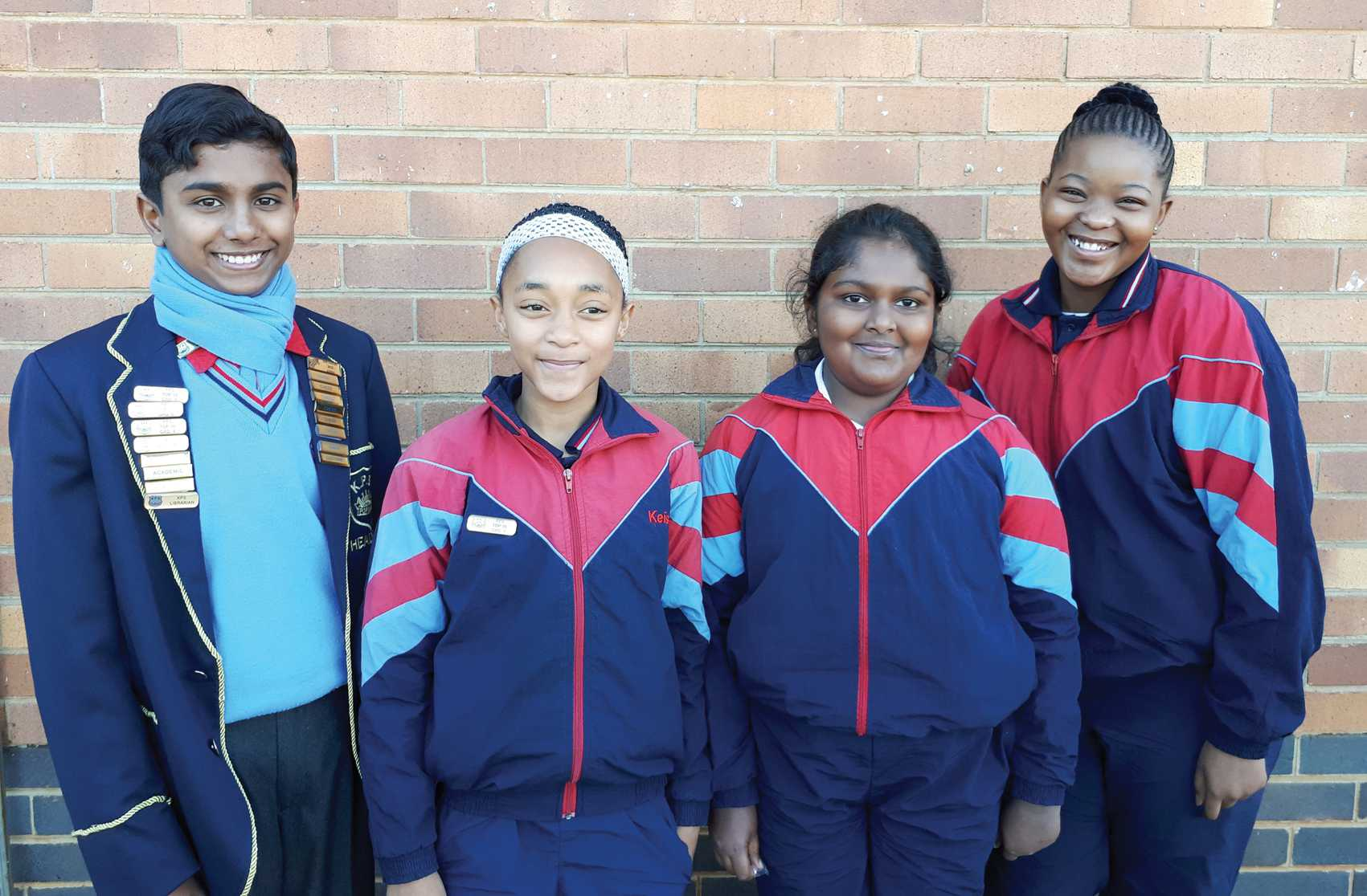 The following learners in KPS were the academic achievers in their respective grades for the second term: Asish Mathew (Gr 7), Keisha Brishmaer (Gr 5), Diya Abrham (Gr 4) and Molebogeng Mothibedi (Gr 6).