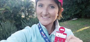 Cancer survivor completes Ironman