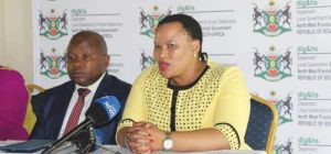 MEC GAOLAOLWE TO ACT ON VACANT POSITIONS AT MUNICIPALITIES