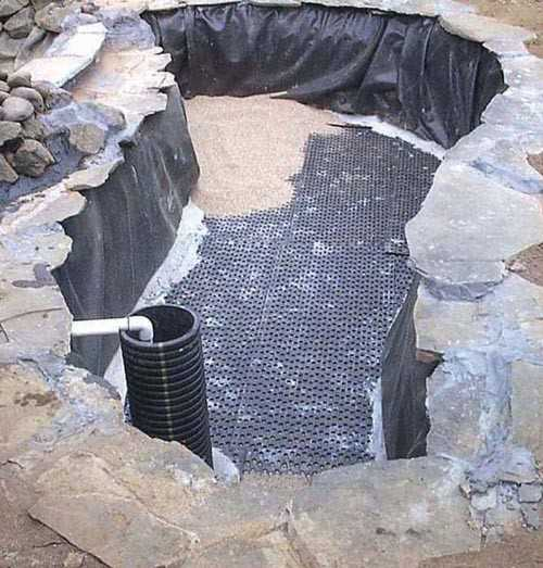 Building a koi pond for Koi pond filter diy