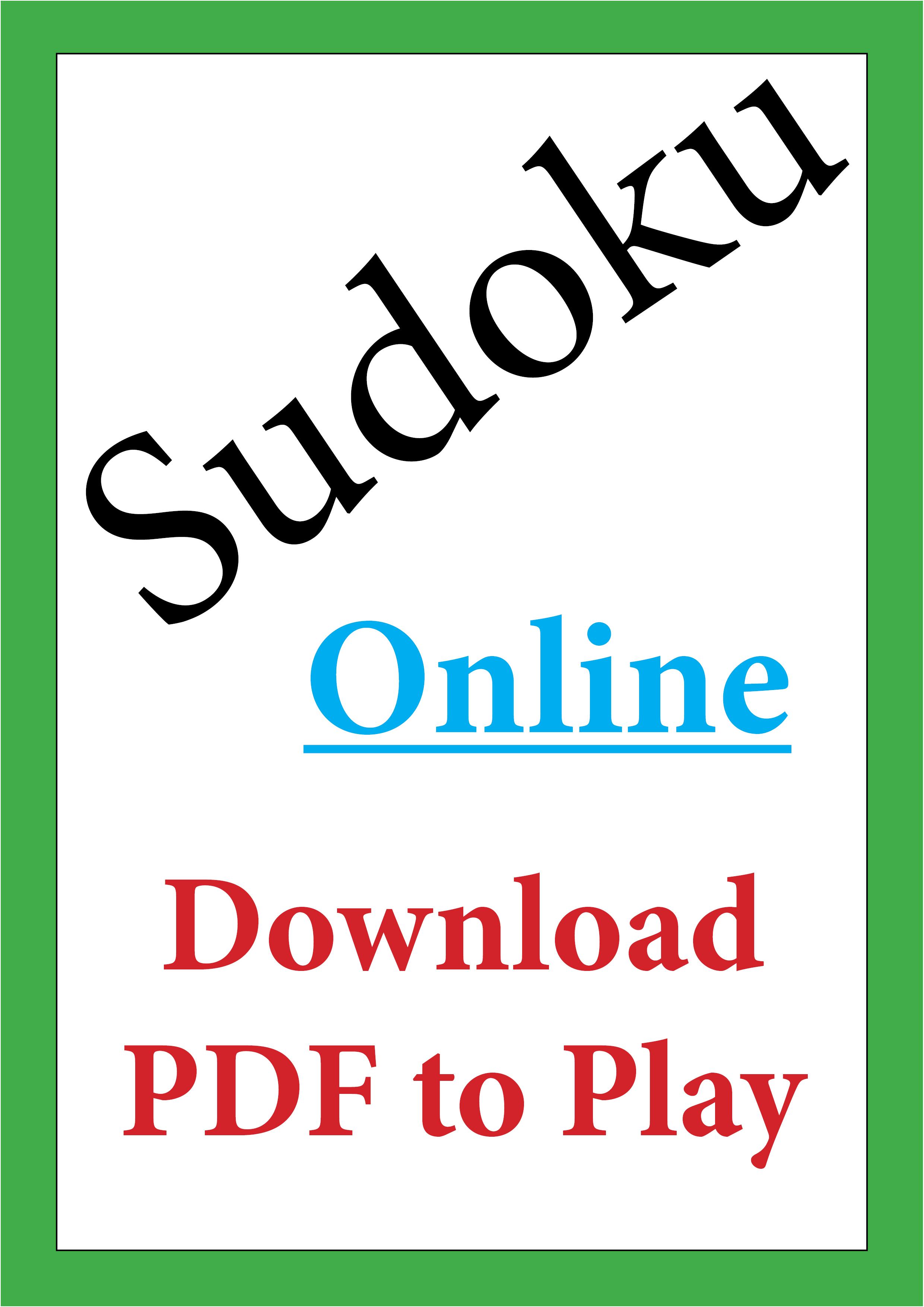 Rustenburg Herald Sudoku