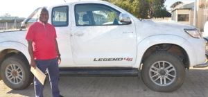 HILUX BAKKIE RECOVERED AS THEFT RISES IN RUSTENBURG