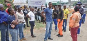 YOUTHS DEMAND WORK