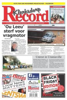 Klerksdorp Record Main Body