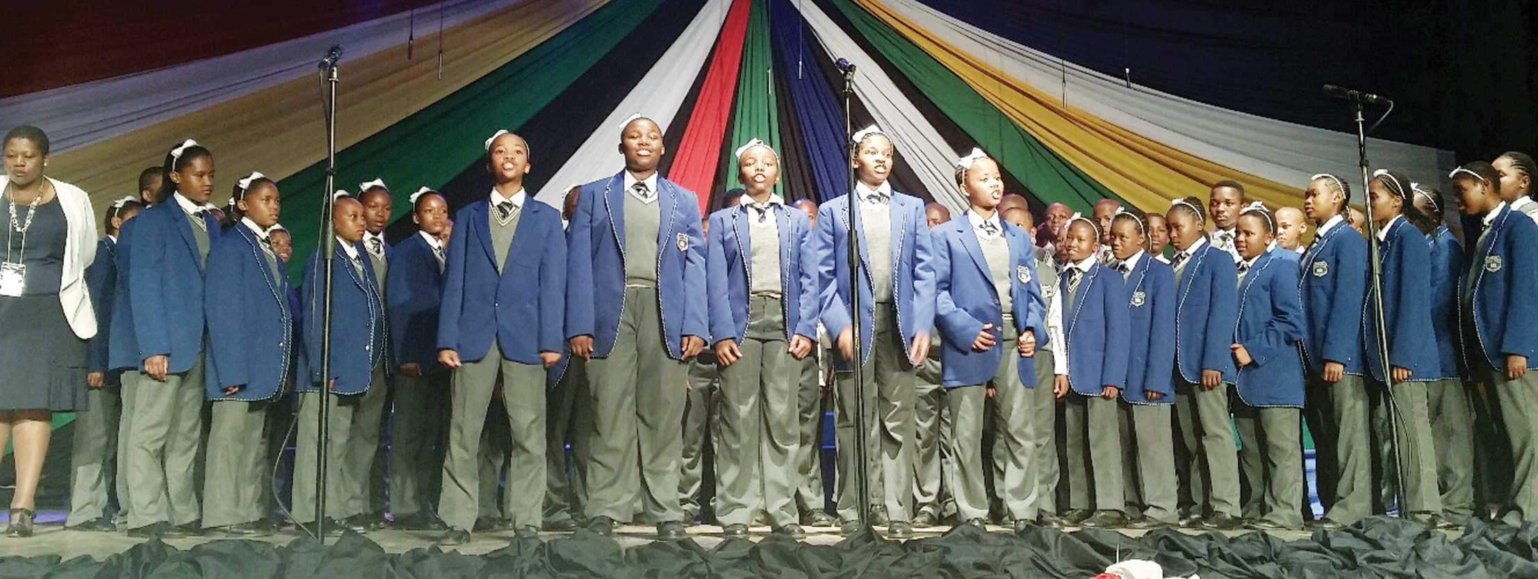 Bosa Bosele Primary School was amongst the schools which participated at the national South African Schools Choral Eisteddfod (SASCE) competitions.