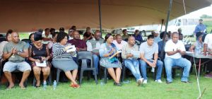 MAYOR'S IMBIZO AT FARMS