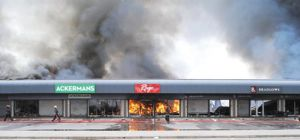 Eight stores destroyed by fire in Mahikeng